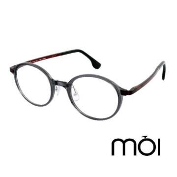 moi 北歐超柔無負擔光學眼鏡 黑 moi02-03