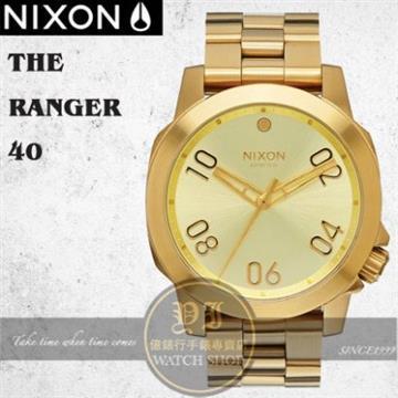 NIXON 實體店THE RANGER 40軍事攻略腕錶A468-502