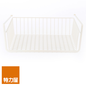 特力屋 方型掛籃 S尺寸 米色 35.5x26x13cm