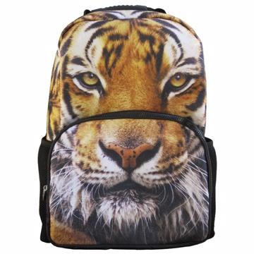 【DOUBLE JJ】3D動物15.6吋休閒後背包(老虎)
