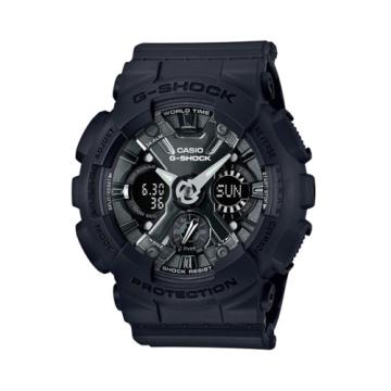 CASIO G-SHOCK/潮流尖端雙顯運動腕錶/GMA-S120MF-1ADR