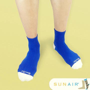 sunair 滅菌除臭襪子-自行車運動薄襪 短筒 (L25~29) /SA3103