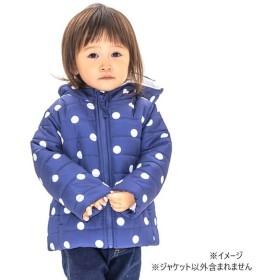 ベビーザらス限定 CHINO KIDS 中綿パフジャケット(ブルー×90cm)
