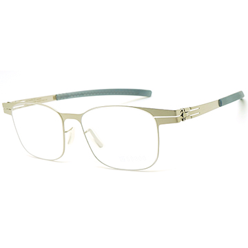 【ic! berlin】德國薄鋼光學眼鏡鏡框 Junior 兒童款 kindness pearl 台灣限定