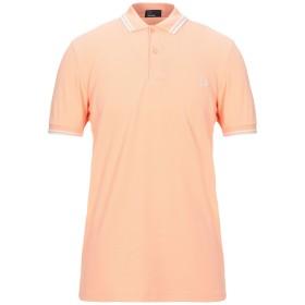 《セール開催中》FRED PERRY メンズ ポロシャツ サーモンピンク M コットン 100%