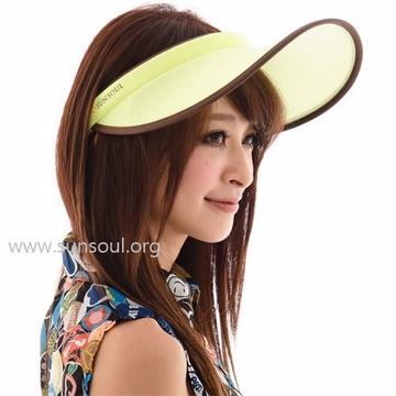 【SUN SOUL】抗UV防曬光能帽-傑克帽(黃光)