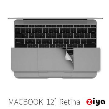 [ZIYA] Apple Macbook 12吋 Retina 手腕貼膜/掌托保護貼 (沉穩煉灰款)