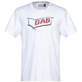 《セール開催中》GAS メンズ T シャツ ホワイト S コットン 100%