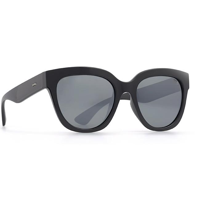 INVU 瑞士明星感水銀粗框偏光太陽眼鏡(黑) T2805A