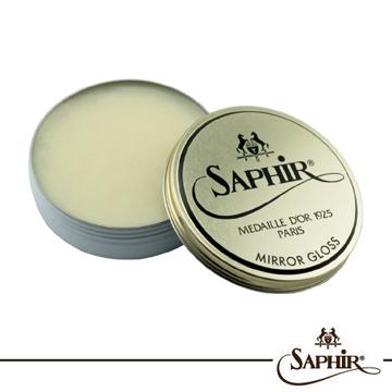【SAPHIR莎菲爾 - 金質】皮革快速鏡面亮光蠟 75ml