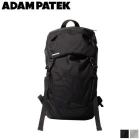 アダムパテック ADAM PATEK バッグ リュック バックパック メンズ レディース LENTS FLAP BACKPACK ブラック グレー 黒 AMPK-B045 [11/6 新入荷]