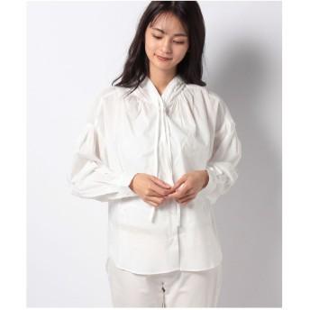 MARcourt 【mizuiro ind】hooded shirt(OFFWHITE)