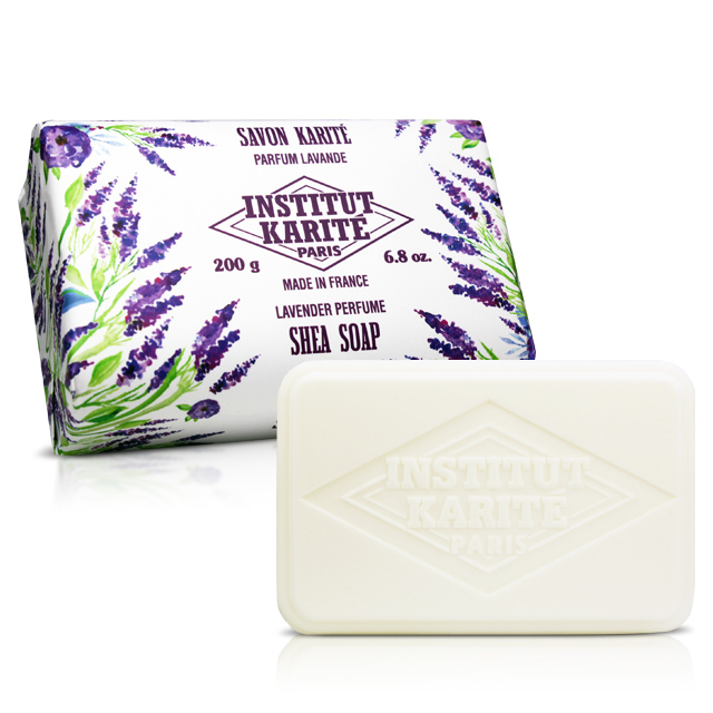 Institut Karite Paris 巴黎乳油木薰衣草花園香氛手工皂(200g)