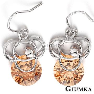 【GIUMKA】三月物語耳勾式耳環 香檳金 MF249-1