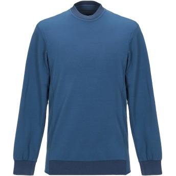 《セール開催中》,BEAUCOUP メンズ スウェットシャツ ブルー S コットン 97% / ポリウレタン 3%