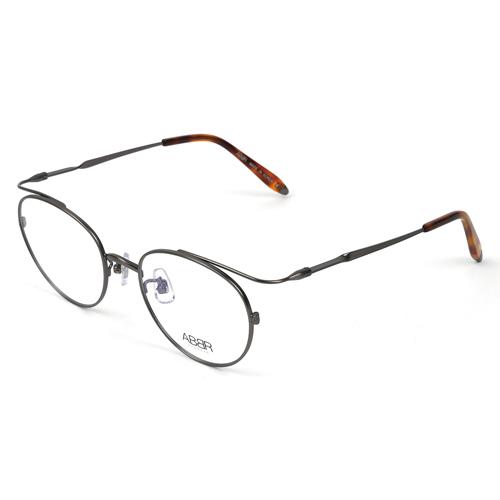 ABBR 北歐瑞典經典系列硬鋁合金光學眼鏡(槍色) CL-01-001-Z06