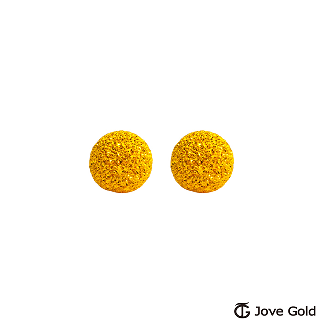 Jove gold 呢喃黃金耳環-小