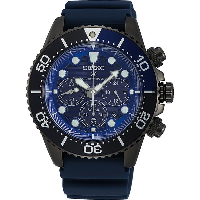 SEIKO 精工 PROSPEX 愛海洋太陽能計時手錶 SSC701P1