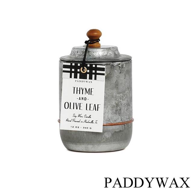 美國 PADDYWAX Homestead系列 Thyme and Olive Leaf 百里香橄欖 340g 香氛蠟燭