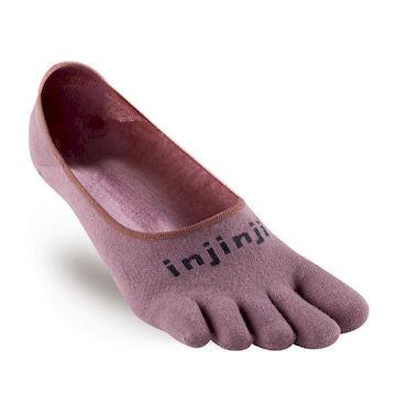 【INJINJI】Sport 多功能吸排五趾船形襪 [三色可選] 運動吸排五趾襪-錦葵紫