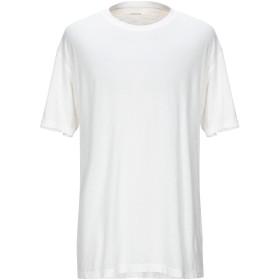 《セール開催中》,BEAUCOUP メンズ T シャツ アイボリー S 麻 100%