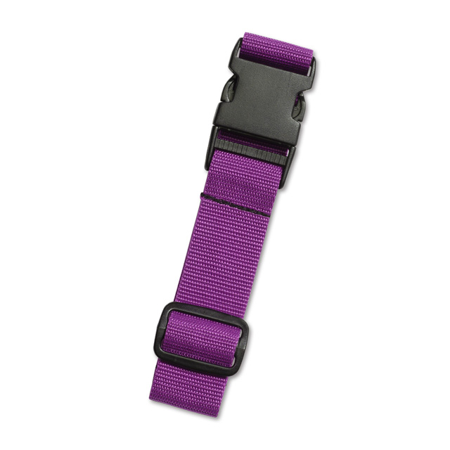 AOU台灣製造 多用途行李外扣帶旅行省力好幫手 行李掛扣(淺紫)66-028D17