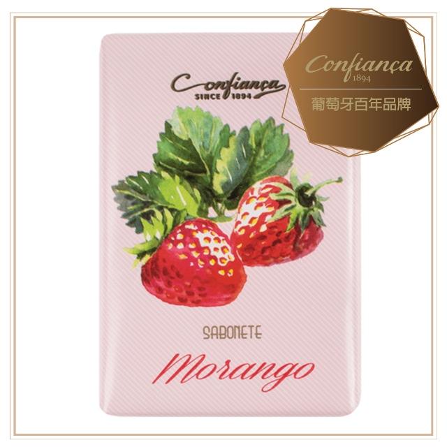 【Confinaca 恭菲卡】MORANGO 甜美草莓香皂100g(葡萄牙品牌100%植物皂 鮮甜草莓搭配棉花糖與多款香料)