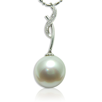 【小樂珠寶】南洋珠之王★巨大超大完美16.1mm南洋珠鑽墬