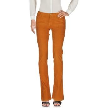 《セール開催中》MOTHER レディース パンツ 赤茶色 28 コットン 98% / ポリウレタン 2%