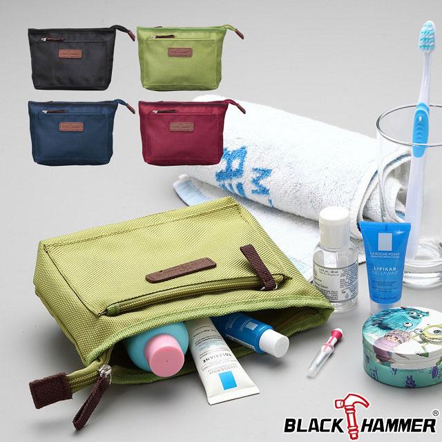 BLACK HAMMER 旅行盥洗包-紅