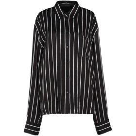 《セール開催中》HAIDER ACKERMANN レディース シャツ ブラック 40 レーヨン 100% / コットン