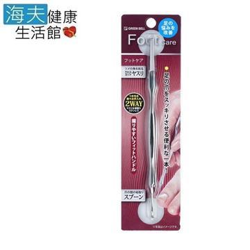 【海夫健康生活館】日本GB綠鐘 SE 腳指甲縫除垢棒 雙包裝(SE-028)