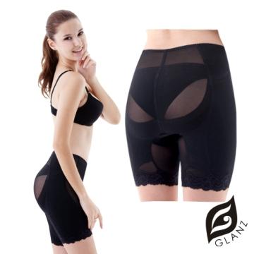 GLANZ 格藍絲 560丹性感女王-高機能提臀塑腿三分褲(2件組)