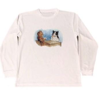 ルイス・ウェイン ドライ ロング Tシャツ ポーカー トランプ ギャンブル グッズ 猫 ネコ ねこ