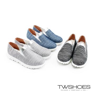 【TW Shoes】MIT時尚拼接厚底休閒鞋【K124IF4008】