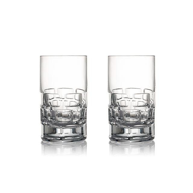 Rogaska Maison S/2 Vodka 2pcs 紳品邁森系列 手工水晶 伏特加 酒杯 兩件組