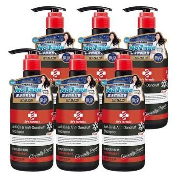 台塑生醫Dr's Formula 控油抗屑洗髮精升級版 激涼款  580g*6入