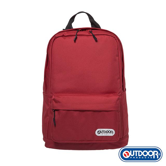 【OUTDOOR】極簡生活3.0-15.6吋後背包-紅色 OD281100RD
