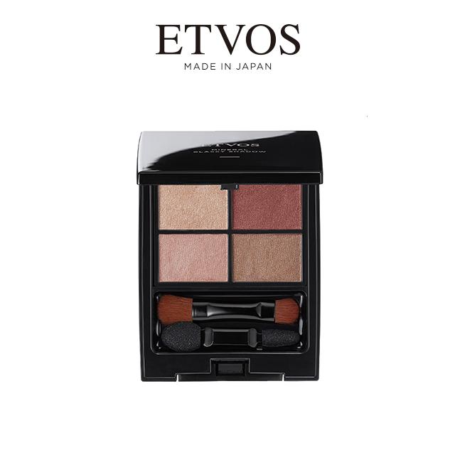 ETVOS 舞動閃耀礦物眼影彩盤  薔薇棕 (5.3g)