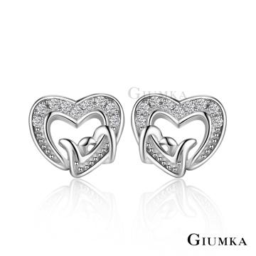 GIUMKA 守護真心純銀耳環 MFS6019