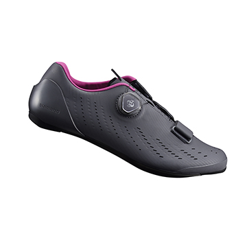 【SHIMANO】RP7 女性公路車性能型車鞋 灰色