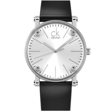 Calvin Klein 卡文克萊 Cogent 魔幻透視設計美學限量腕錶 銀面 43mm K3B2T1C6