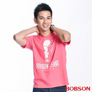 【BOBSON】男款短袖印圖T恤(20041-21)