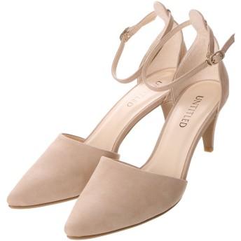 アンタイトル シューズ UNTITLED shoes セパレートパンプス UT6217 (ベージュヌバック)