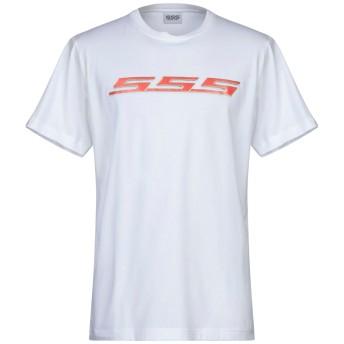 《セール開催中》SSS WORLD CORP. メンズ T シャツ ホワイト XS コットン 100%