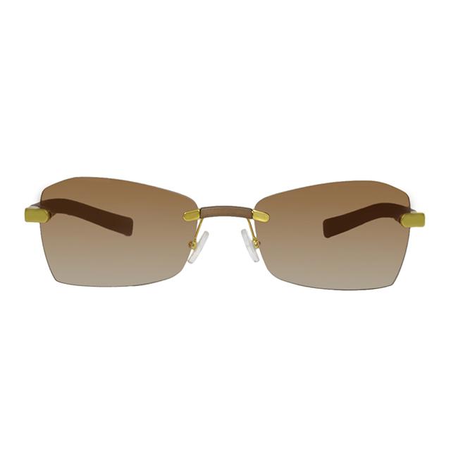 Gianfranco Ferré 義大利 簡約時尚造型太陽眼鏡 / 橘GF55403