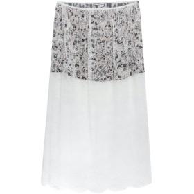 《セール開催中》PACO RABANNE レディース 7分丈スカート ホワイト 36 ナイロン 100% / ポリエステル