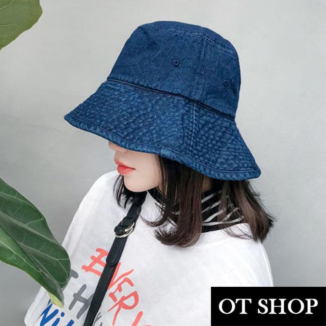 牛仔布漁夫帽C2075