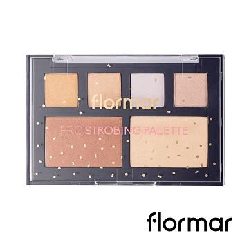 【法國 Flormar】迷幻星夜-專業聚光燈立體打亮盤(12g)
