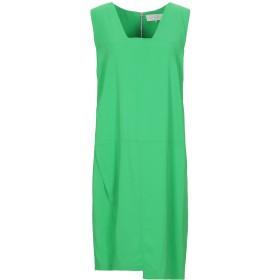 《セール開催中》L' AUTRE CHOSE レディース ミニワンピース&ドレス グリーン 40 レーヨン 98% / ポリウレタン 2%
